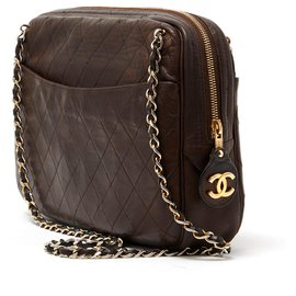 Chanel-timeless camera brown-Brown