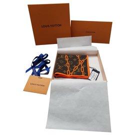 Louis Vuitton-Bandana Solar Ray Monogram-Brown,Orange