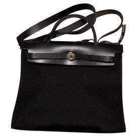 Hermès-Hermès herbag-Noir