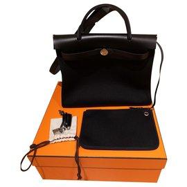 Hermès-Hermes herbag-Black