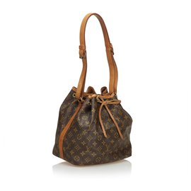 Louis Vuitton-Louis Vuitton Monogram Marron Petit Noé-Marron
