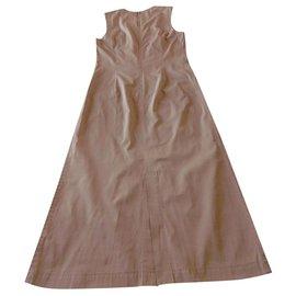 Comme Des Garcons-Comme des Garcons Maxi Dress-Taupe