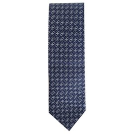 Salvatore Ferragamo-Salvatore Ferragamo silk tie - New-Blue