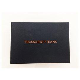 Trussardi Jeans-Bourses, portefeuilles, cas-Gris anthracite