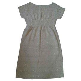 Antik Batik-Kleider-Creme