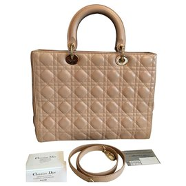 Christian Dior-Lady Dior-Beige