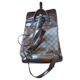 Louis Vuitton-Louis Vuitton backpack soho damier ébène-Ebène