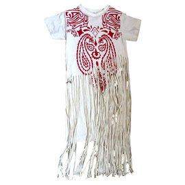 Loewe-Fringe totem-White,Red
