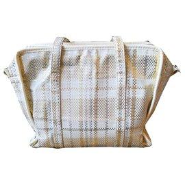 Louis Vuitton-Louis Vuitton bag collector Barbes-Silvery,Golden,Eggshell