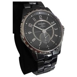 Chanel-Chanel J watch12-365-Black