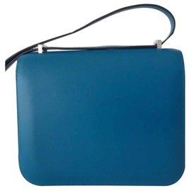 Hermès-BAG CONSTANCE HERMES III-Blue