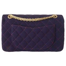 Chanel-SAC CHANEL 2.55 VIOLET-Violet