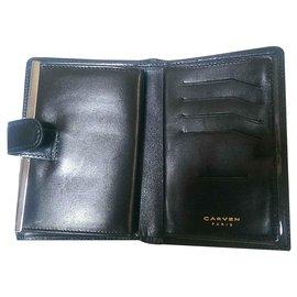 Carven-portefeuilles-Noir