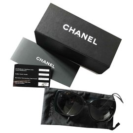 Chanel-Sunglasses-Black