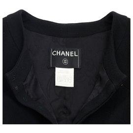 Chanel-black crepe38-Black
