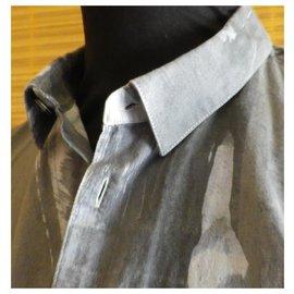 Kenzo-chemise KENZO taille 42 très bon état-Gris