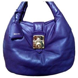Miu Miu-Mini bag-Purple