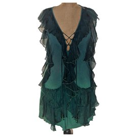 Miss Sixty-Robes-Vert foncé