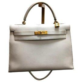 Hermès-Kelly 32-White