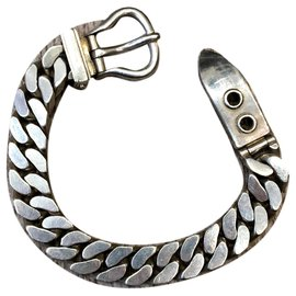 Hermès-ceinture-Argenté