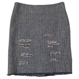 Chanel-Skirts-Beige,Dark red,Turquoise