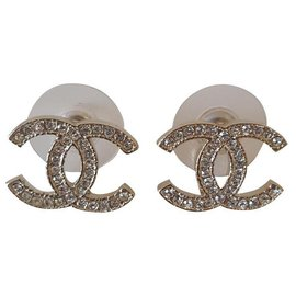 Chanel-New Chanel earrings-Golden