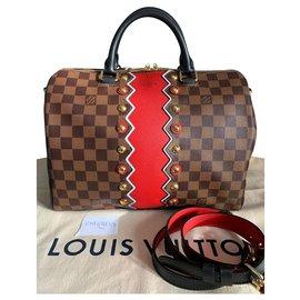 Louis Vuitton-Sac Louis Vuitton speedy 30 Karakoram collection-Brown