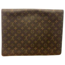 Louis Vuitton-Louis Vuitton Porte document ambassadeur-Brown