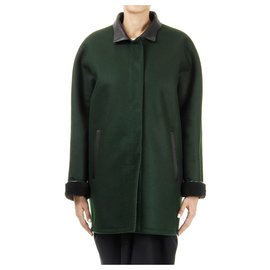 Balenciaga-Balenciaga coat brand new-Dark green
