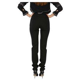 Balenciaga-Balenciaga trousers new-Black