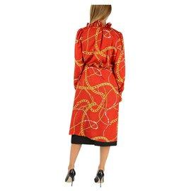 Balenciaga-Balenciaga dress new-Red
