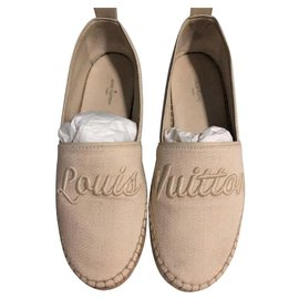 Louis Vuitton-Espadrilles Louis Vuitton EU 35.5-Beige