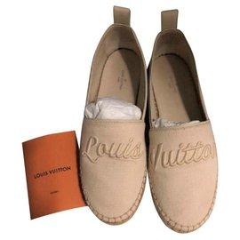Louis Vuitton-Louis Vuitton Espadrilles EU 35.5-Beige