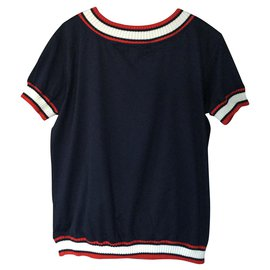 Moncler-TOP MONCLER NEVER WORN-Navy blue