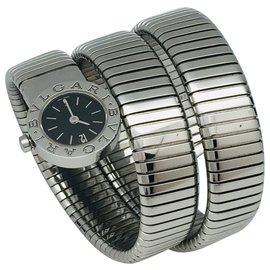 "Bulgari-Bulgari watch ""Serpenti"" steel.-Other"