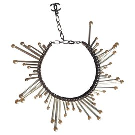 Chanel-Star bracelet-Silvery