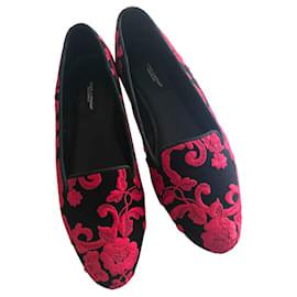 Dolce & Gabbana-Flats-Black