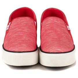 "Louis Vuitton-Louis Vuitton sneakers model ""Catwalk sneaker"" raspberry color , taille 39, 5 almost new !-Fuschia"