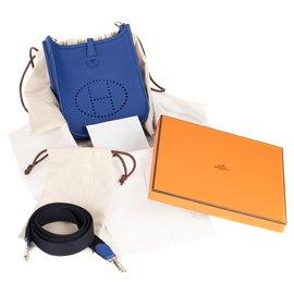 Hermès-Hermès bag Evelyne 16 Electric blue amazon, Never worn, new condition!-Blue
