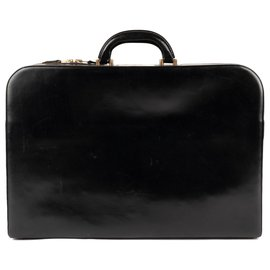 08079b4c94d1 Hermès-Men s briefcase Hermes Paris vintage box black leather in good  condition!