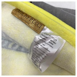 Emilio Pucci-Printed cotton beach towel-Multiple colors