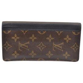 Louis Vuitton-Louis Vuitton Portefeuille Macassar-Marron