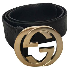 Gucci-Belts-Black