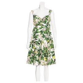 Dolce & Gabbana-Robes-Blanc