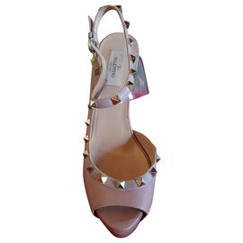 Valentino Garavani-Sandals-Beige