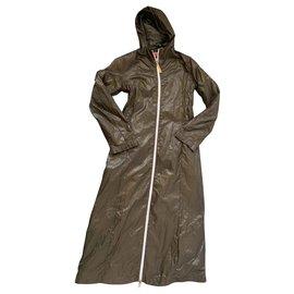 Diesel-Manteaux, Vêtements d'extérieur-Kaki