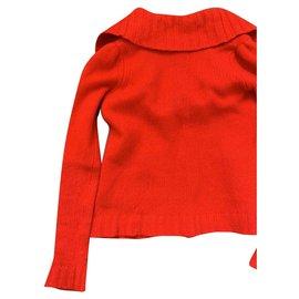 Comptoir Des Cotonniers-Tricots-Rouge