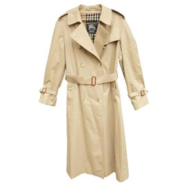 Burberry-trench Burberry vintage-Beige