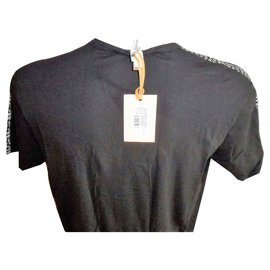 John Galliano-JOHN GALLIANO MEN'S BLACK T-SHIRT XL-Black