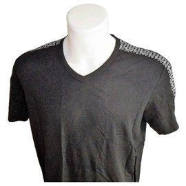 John Galliano-JOHN GALLIANO MEN'S NEW T-SHIRT XXL-Black